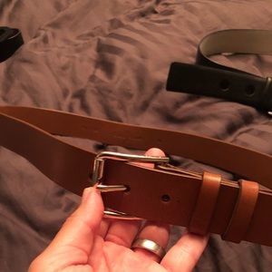 Cole Haan brown belt